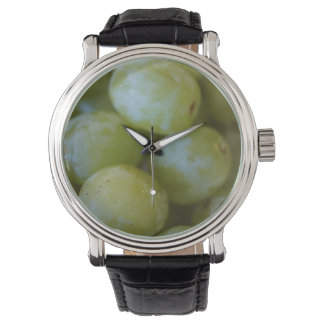 Green Grapes Wrist Watch