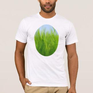 Green Grass and Blue Sky T-Shirt
