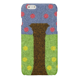 Green grass and blue tree iPhone 6 plus case
