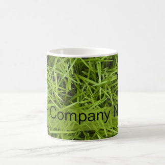 Green Grass Basic White Mug