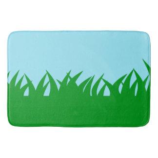Green Grass Bath Mats