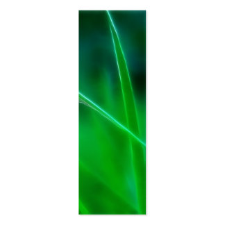 Green Grass Bookmark Pack Of Skinny Business Cards
