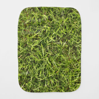 Green Grass Burp Cloth