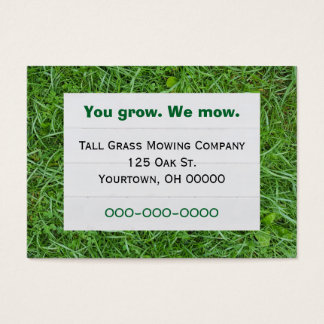 Green Grass Business Card