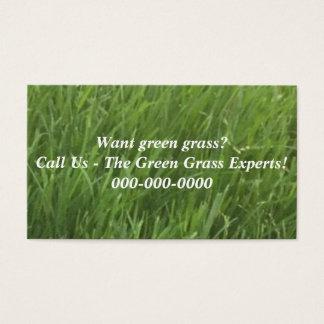 Green Grass Business Cards