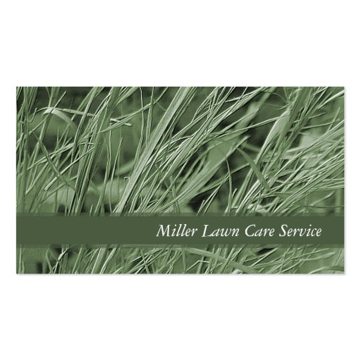 Green Grass Business Cards