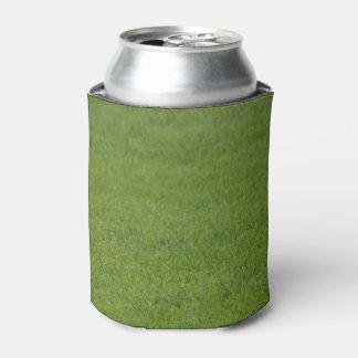 Green grass can cooler