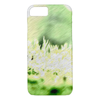Green Grass Color Hatch iPhone 7 Case