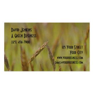 Green Grass Customizable Design Business Cards