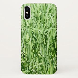 Green Grass iPhone X Case