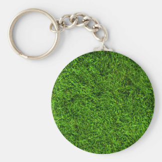 Green Grass Key Ring