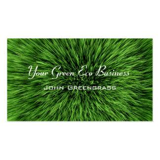 Green Grass Lawn Business Card