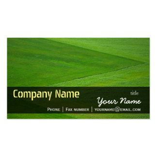 Green Grass Meadow Texture Nature Farm background Pack Of Standard Business Cards