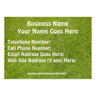 GREEN GRASS ORGANIC Business Cards