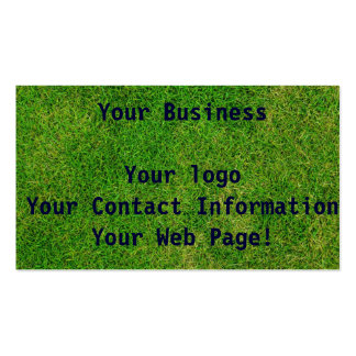 Green Grass Pack Of Standard Business Cards