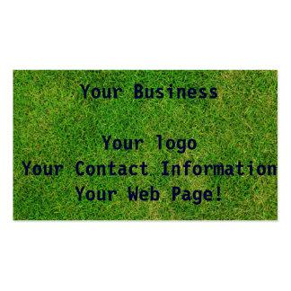 Green Grass Pack Of Standard Business Cards