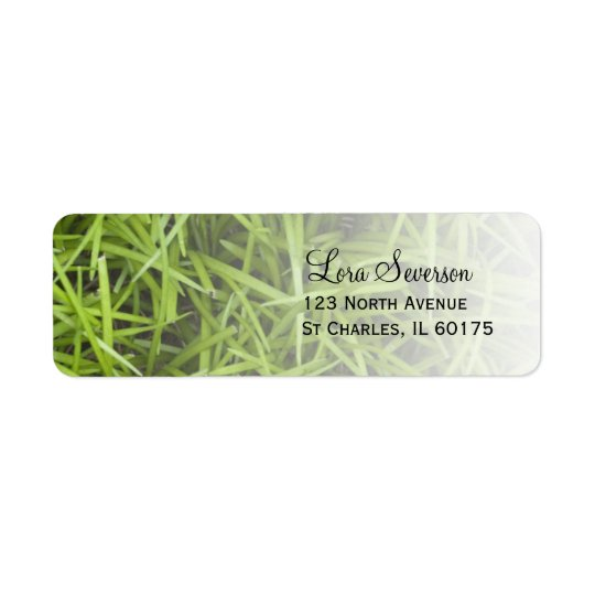 Green Grass Return Address