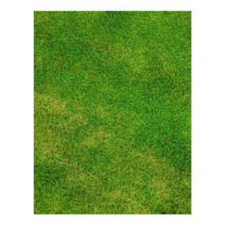 Green Grass Texture 21.5 Cm X 28 Cm Flyer