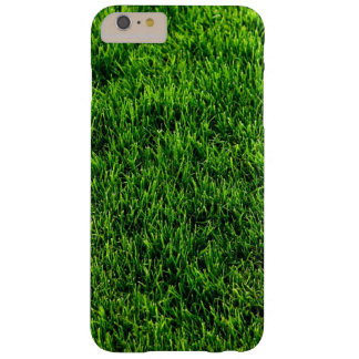 Green grass texture from a soccer field barely there iPhone 6 plus case