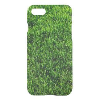Green grass texture from a soccer field iPhone 8/7 case