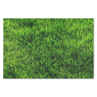 Green grass texture from a soccer field tissue paper