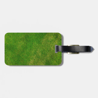 Green Grass Texture Luggage Tag
