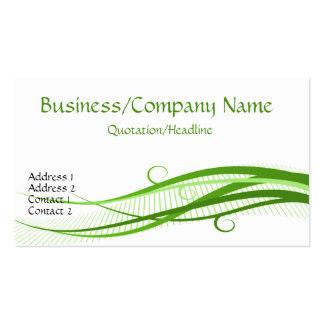 Green Grass Waves Business Cards