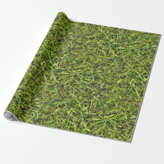 Green Grass Wrapping Paper