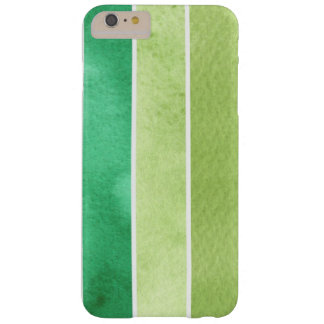green great watercolor background - watercolor barely there iPhone 6 plus case