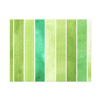 green great watercolor background - watercolor canvas print