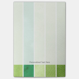 green great watercolor background - watercolor post-it notes
