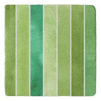 green great watercolor background - watercolor trivet