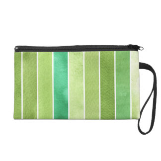 green great watercolor background - watercolor wristlet
