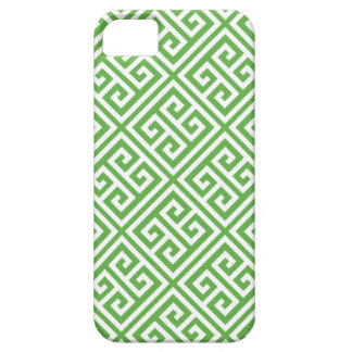 Green Greek Key Pattern Case For The iPhone 5