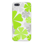 Green grey floral - iphone case case for iPhone 5
