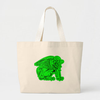 Green Griffin Jumbo Tote Bag