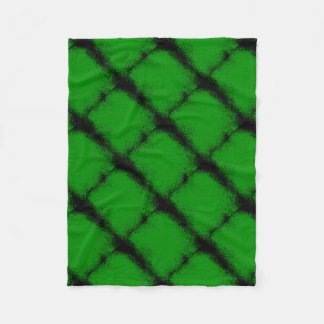 Green Grunge Background Fleece Blanket
