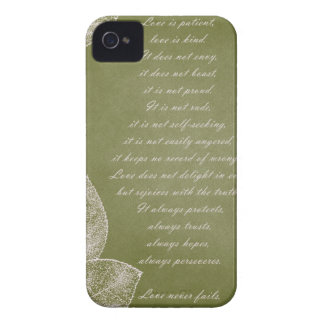 Green Grunge Leaves iPhone 4 Case-Mate Cases