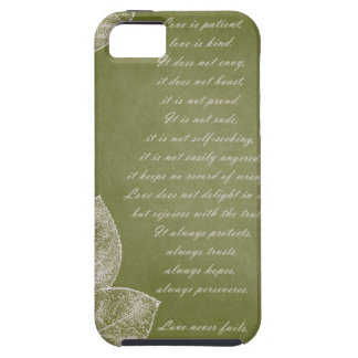 Green Grunge Leaves iPhone 5 Covers