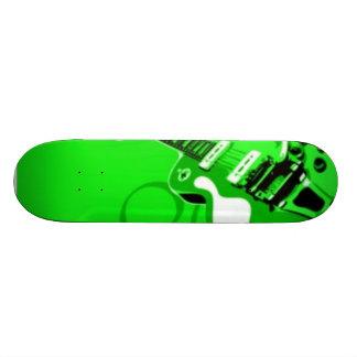 green guitar skate boards