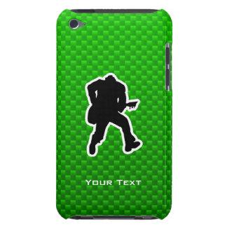 Green Guitarist iPod Touch Case-Mate Case