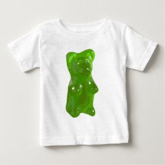 Green Gummy Bear Candy Baby T-Shirt