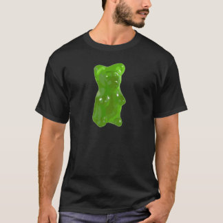 Green Gummy Bear Candy T-Shirt