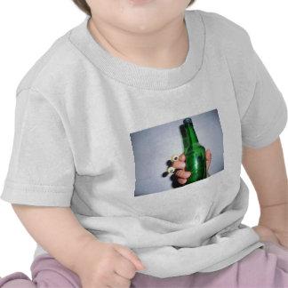 green hand t-shirt