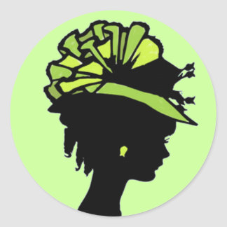 Green Hat Stickers