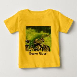 Green Hawaiian Gecko Rider Baby T-Shirt