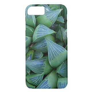 Green Haworthia Succulent Plants iPhone Case