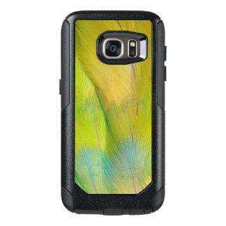 Green Headed Parrot Horizontal OtterBox Samsung Galaxy S7 Case