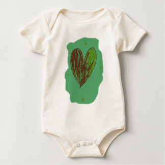 Green Heart Bodysuit