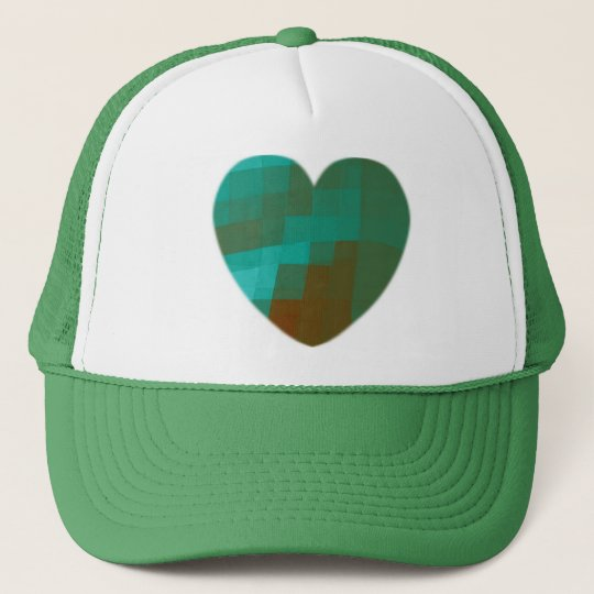 green heart cap